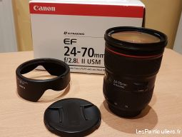 objectif canon 24-70 l usm ii high tech image son photo camescope drôme