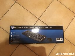 kit clavier + souris hp sans fil high tech image son informatique moselle