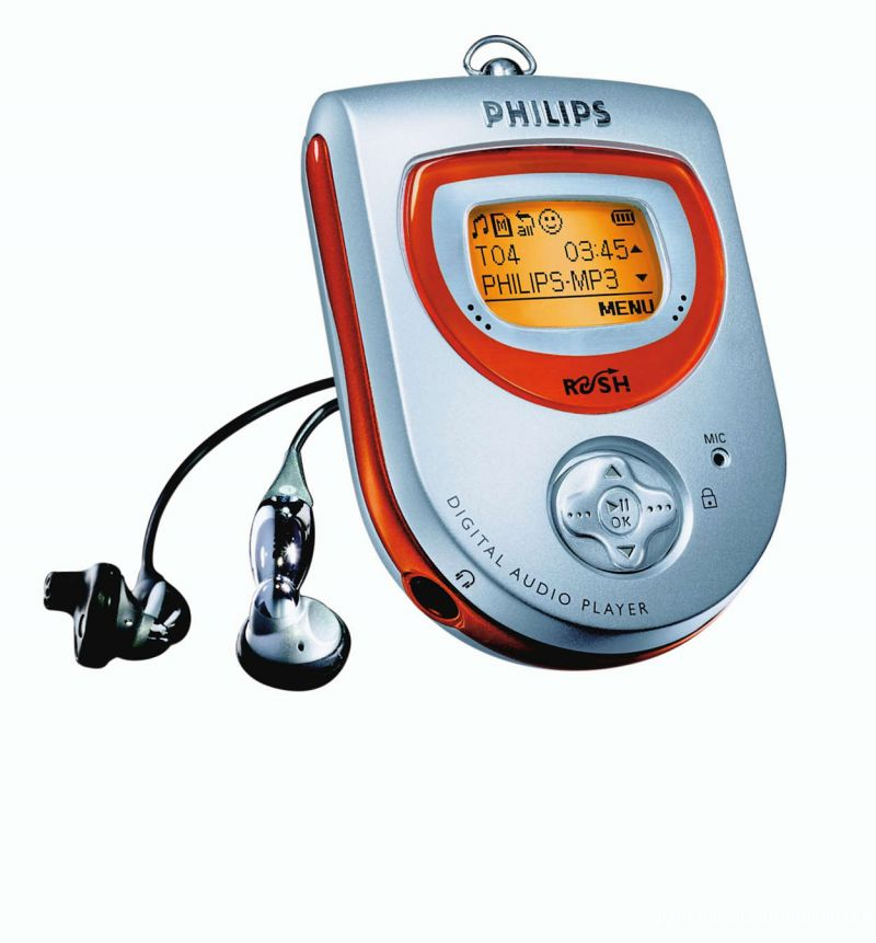 LECTEUR MP3 64 Mo PHILIPS RUSH SA 220