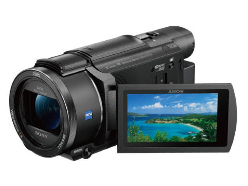 Camescope Sony  Sony caméscope 4K FDR-AX53 High Tech Image son Photo Camescope Yonne