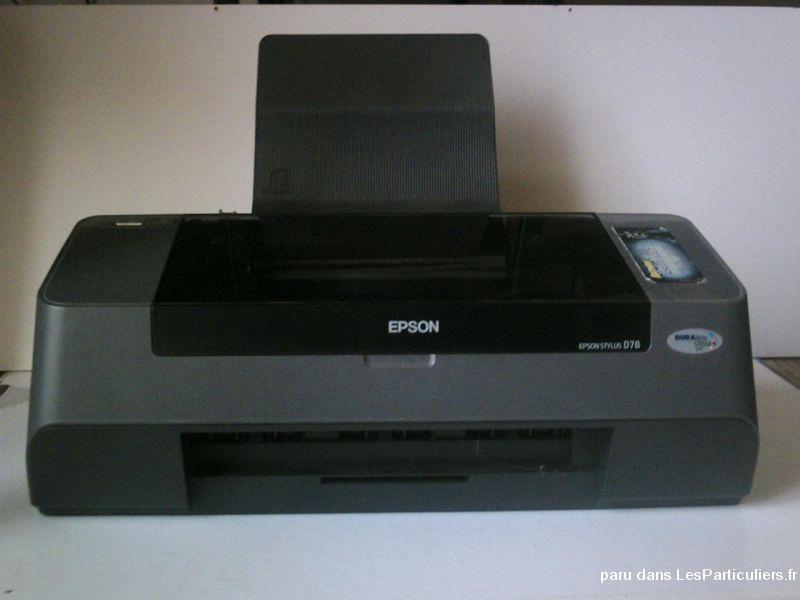 driver imprimante epson stylus d78 gratuit