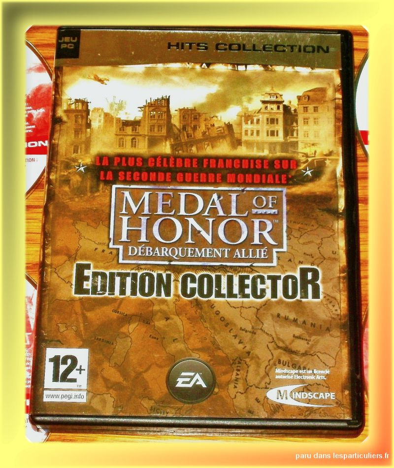 jeu pc-medal of honor edition collector 4 cd-rom' jeux videos consoles pc - mac maine-et-loire