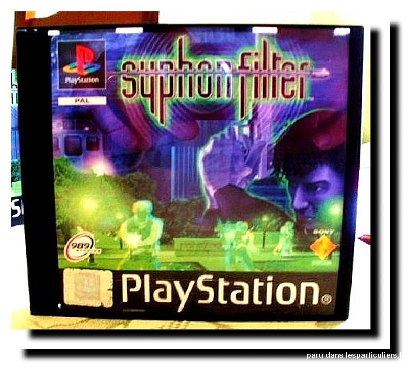 syphon filter 1 jeux videos consoles sony maine-et-loire