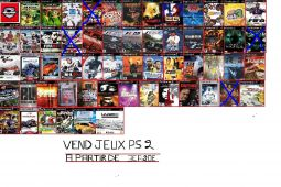 jeux ps1 ps2 ps3 wii ds  jeux videos consoles sony alpes-maritimes