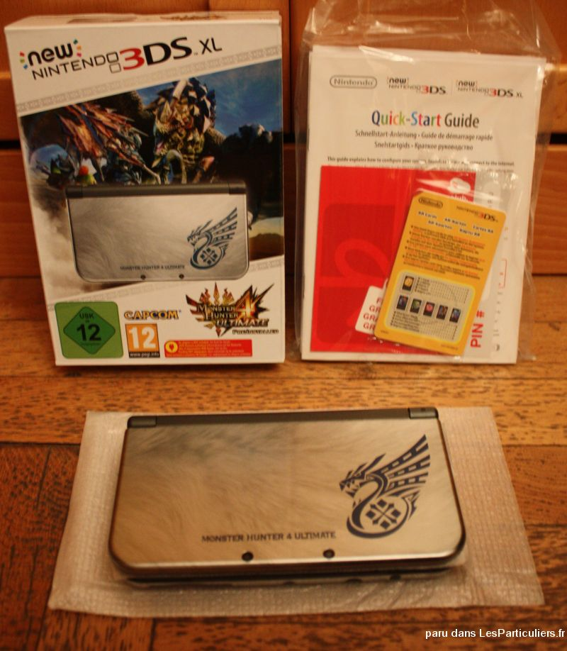nintendo new 3ds monster hunter jeux videos consoles nintendo rhône