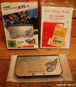 nintendo new 3ds monster hunter jeux videos consoles nintendo rh�ne