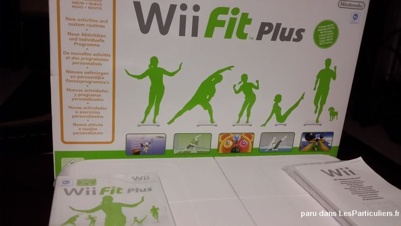 balance wii fit plus jeux videos consoles nintendo alpes-maritimes