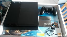 Console Sony PlayStation 4 (PS4) - 500 Go Noir Jet