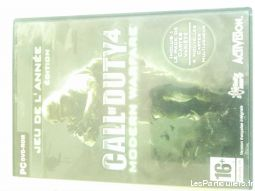 call of duty 4 modern warfare jeux videos consoles pc - mac haute-garonne