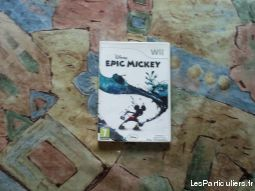 disney epic mickey jeux videos consoles nintendo ain