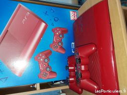 playstation 3 rouge jeux videos consoles autres gironde