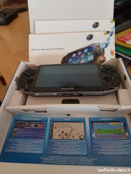 ps vita crystal black jeux videos consoles sony var