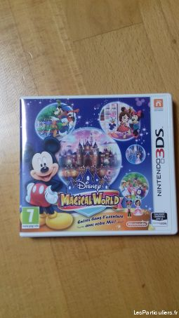 disney magical world 1 jeux videos consoles nintendo essonnes