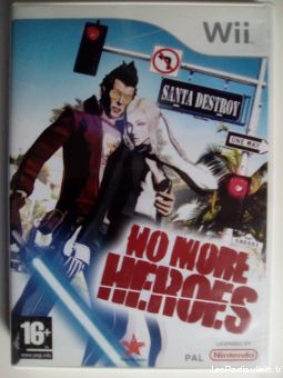 no more heroes jeux videos consoles nintendo nord