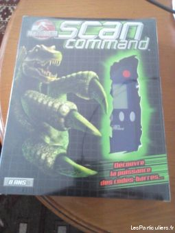 scan command jurassic park jeux videos consoles pc - mac hauts-de-seine