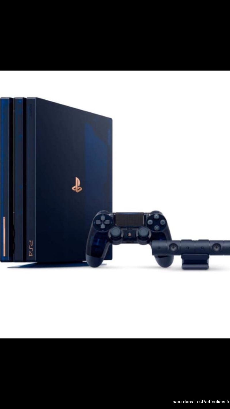 Neuve PS4 pro 2 To edition LIMITEE 500millions