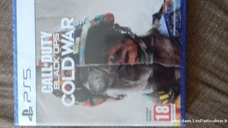 Call of duty cold war original neuf ps5